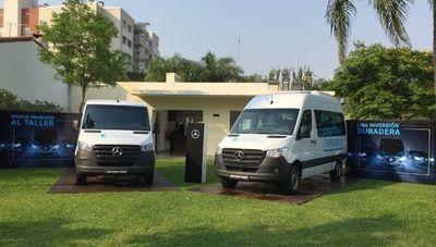 Llegó a Paraguay la tercera generación de la Sprinter de Mercedes-Benz