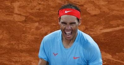 La Nación / Rafa Nadal iguala a Federer