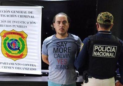 """Detienen a """"Pingo"""", brasileño del crimen organizado, muy buscado"""
