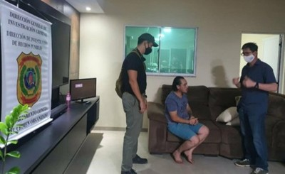 Peligroso delincuente brasileño es detenido en Saltos del Guairá