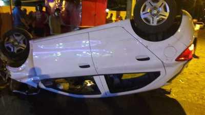 Aparatoso accidente sobre Sacramento