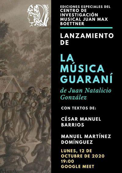 Rescate indaga en la música de los Guaraníes
