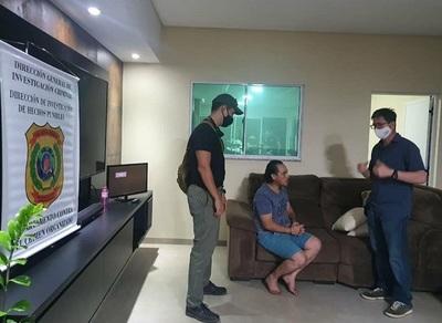 Capturan a Pingo, criminal brasileño buscado por varios delitos
