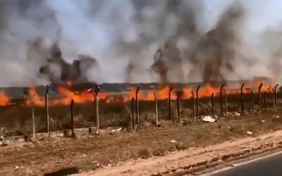 Ministro de la SEN lamenta que sigan los incendios provocados