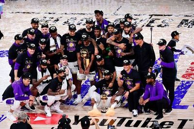 Los Angeles Lakers son campeones de la NBA