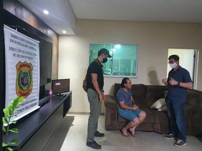 Exmilitar brasileño buscado por varios delitos fue detenido en Salto del Guairá