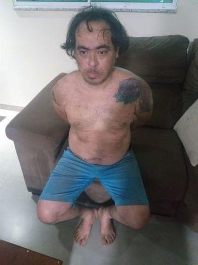 Criminal brasileño es capturado en Salto del Guairá dentro de su chimenea