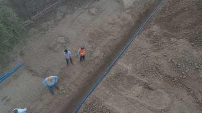 Pese a inconvenientes, obras del Acueducto avanza en óptimas condiciones
