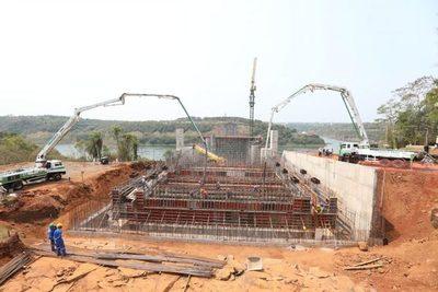 La mesoestructura del Puente de la Integración está casi terminada