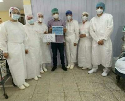 Coronel Oviedo: Salud reporta primer paciente hemodializado que vence al Covid-19