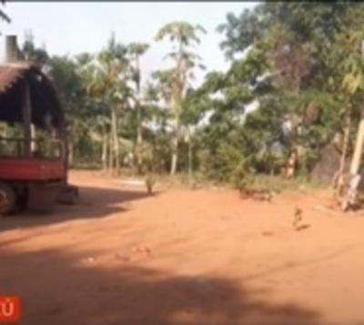 Presunto feminicidio en comunidad indígena en Caaguazú