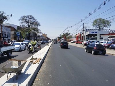 Asunción establece eliminación de giros a la izquierda sobre parte de Eusebio Ayala