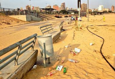 ¡Irresponsabilidad ambiental! Así quedó la Costanera luego del fin de semana
