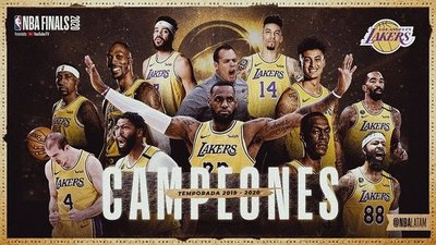 Lakers monarca absoluto de la NBA