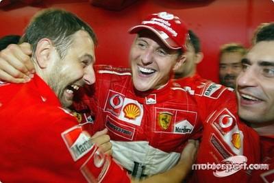 En 2003, Michael Schumacher se convertía en el más grande