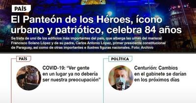 La Nación / LN PM: Las noticias más importantes de la siesta del 12 de octubre