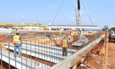 67% de avance presentan obras del multiviaducto de CDE