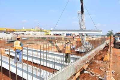 Obras del multiviaducto de CDE ya presentan un 67% de avance