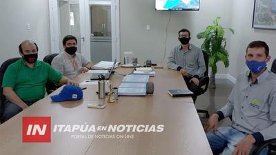 MOPC INICIA TAREAS EN TORNO A PROYECTO DE ASFALTO NARANJITO-SANTA INES