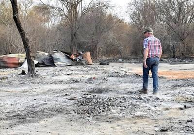 Sequía e incendios castigan con dureza al sector pecuario chaqueño y generan la reacción solidaria