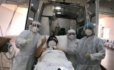 Tras un mes y medio Juan Ángel Núñez dejó sala de UTI