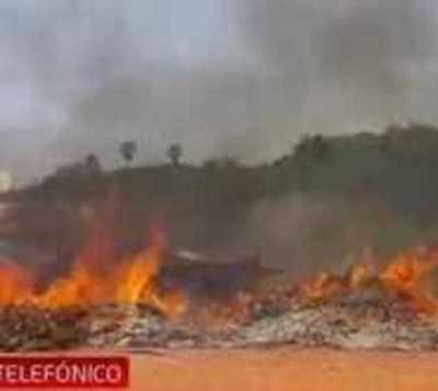 Costanera de Asunción: Detienen a hombre por iniciar incendio