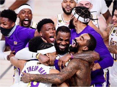 Lakers campeones, el mejor equipo del mundo