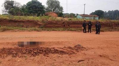 Macabro: Joven que fue raptado es hallado muerto calcinado en Pedro Juan