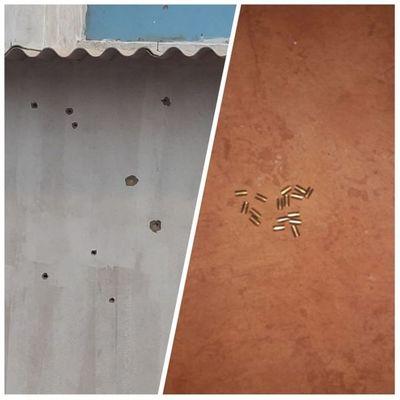Disparan contra una vivienda y un vehículo estacionado en Pedro Juan Caballero