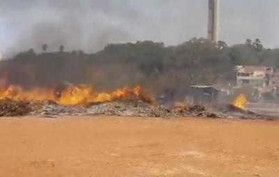 Responsable del incendio en Costanera Norte fue identificado y detenido