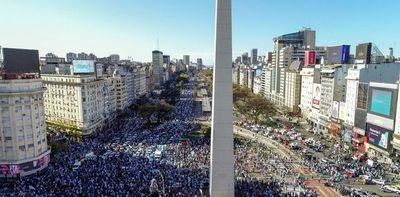 """""""Banderazos"""" contra el Gobierno en Argentina"""