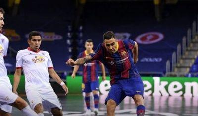 """El """"Cholo"""" Salas es subcampeón de la Champions League de Futsal FIFA"""