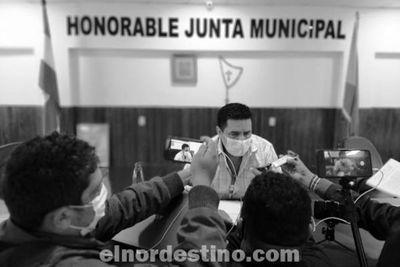 Presidente Salinas tendrá asesor jurídico ad honórem para respaldar su gestión al frente de la Junta Municipal de Pedro Juan