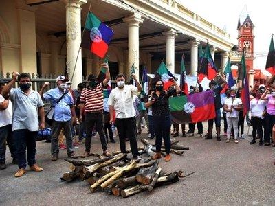Campesinos se movilizan  hoy  y luego se reunirán con autoridades