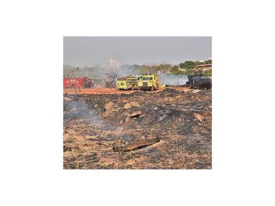 Detienen a reciclador por causar incendio