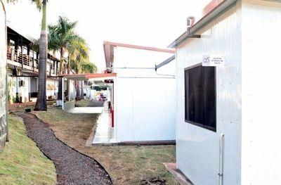 Segundo pabellón de contingencia en el Hospital de Lambaré se encuentra habilitado