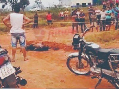 Dos muertos a tiros y un quemado en Pedro Juan