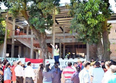 Construcción del local para IPS de Caazapá podría continuar antes de fin de año