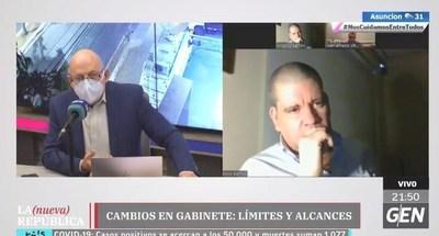 """Barrios: """"El presidente está guardando demasiado el cargo de Petta"""""""