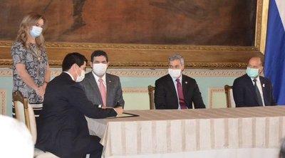 Federico González juró como nuevo ministro de Relaciones Exteriores