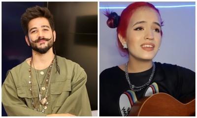 El cantante Camilo compartió un video de la paraguaya Yamila Ruíz