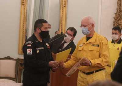 Bomberos acuerdan alianza operativa para optimizar servicios de emergencia