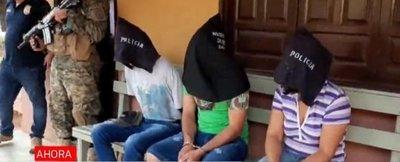 Caen los supuestos atracadores de Santa Rosa del Aguaray