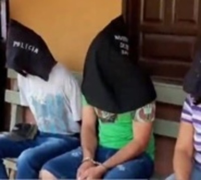 Atrapan a supuestos atracadores de Santa Rosa del Aguaray