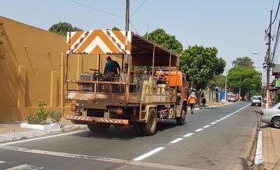 MOPC hace trabajo que la municipalidad pagará a empresa privada