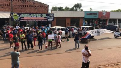 Hernandarias: recicladores protestan contra tercerización de vertedero