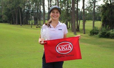 Golfista paraguaya conquista el Billy Horschel Junior femenino