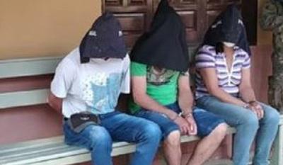 Confirman incautación de armas, dinero y la detención de 3 personas en Tacuati