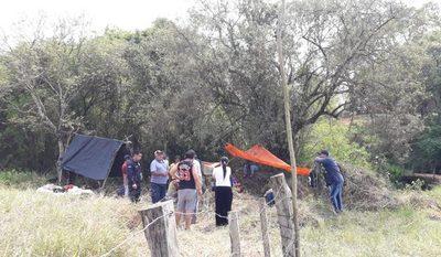 Invaden inmueble ubicado en inmediaciones del arroyo Hu'i Rupa