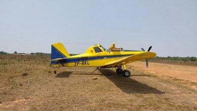 Sofocarán incendios en Cordillera del Ybytyruzú con ayuda de una avioneta